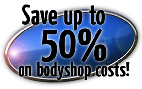 Save up to 50% on bodyshop costs!